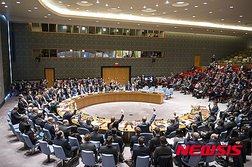"""러시아, 안보리 대북제재 """"핵포기에 중대한 신호"""" 평가"""