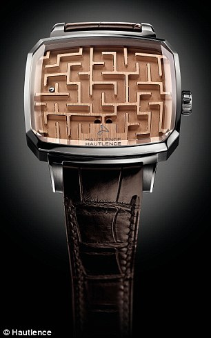 '시간 알려주지 않는' 1500만원 짜리 손목시계, 왜?